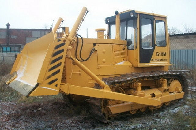 AVTOGRAN Company machinery rental: Bulldozer Б 10 M 0111-1E