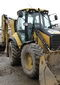 Special technics rentals by TOV 'Avtogran': Backhoe Loader Caterpillar 444 E (hydrohammer / bucket)